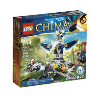 $25.59(原价$44.99) 乐高LEGO Legends of Chima Eagles' Castl气功传奇 (70011)