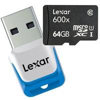 From $14.95 Lexar 16/32/64GB Class 10 UHS-I microSDHC Card with card reader