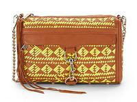 $153.99 Rebecca Minkoff MAC Woven Leather Clutch