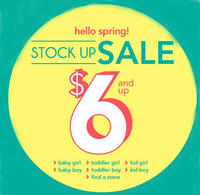 From $6 Baby Clothing and Accessories During Stock Up Spring Sale @ Carter's
