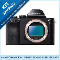 $300 instant credit  Sony a7 and Sony a7r body and kit