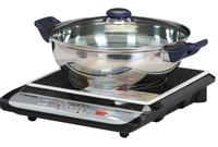 $49.49 Tatung 1,500W Induction Cook Top with Stainless Steel Pot