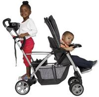 Free $25 Gift Card Graco RoomFor2 Stand and Ride Classic Connect Stroller, Metropolis