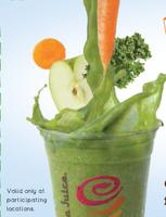 Just $2 Jamba Juice 12oz Freshly Squeezed Juice