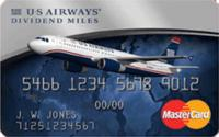 Earn up to 40,000 bonus miles  The US Airways Premier World MasterCard®