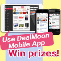 Win Portable External Battery Chargers and DealMoon T-shirts! by leaving a comment via DealMoon Mobile App for iPhone, iPad, or Android