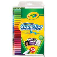 $5.98 Crayola 50ct Washable Super Tips with Silly Scents