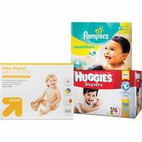 Free $20 Gift Card + $10 OFF $40 when you buy (2 BOX) Selected Diapers @ Target