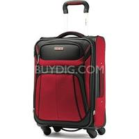 $66.75 Samsonite Aspire Sport Spinner 21 Inch Expandable Bag - Red/Black