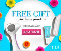 Free Skincare Gift  with Purchase of Any Tria Device @ TRIA Beauty