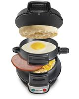 $21.6 Hamilton Beach 25477 Black Breakfast Sandwich Maker