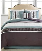 $59.99  Mercer 5 Piece Embroidered Comforter Set