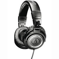 $99.99 Audio-Technica ATH-M50 Professional Studio Monitor Headphones with Coiled Cable