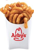 Free Curly Fries  give away @ Arby's 4th Annual Tax Day