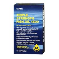 $14.99 GNC Triple Strength Fish Oil 1500