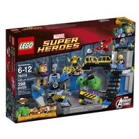 $40.00 LEGO Superheroes 76018 Hulk Lab Smash @ amazon