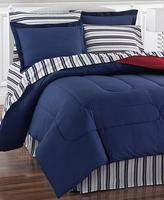 $37.99 Navy Yard 8 Piece Reversible Bedding Ensembles @ macys.com