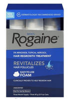 $17.99 Rogaine for Men Foam Hair Regrowth Treatment 2.11-oz. 3-Pack