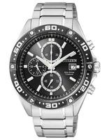 $199.00 CITIZEN ECO-DRIVE SUPER TITANIUM CHRONOGRAPH SPORTS WATCH CA0030-61E