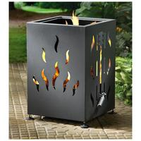 $62 Castlecreek Backyard Firepit and BBQ Grill