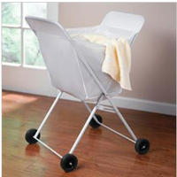 $14.99 Lightweight Laundry Cart