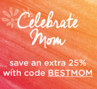 Extra 25% Off Celebrate Mom @LivingSocial