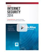 $1.99 McAfee Internet Security 2014 3-User for Windows
