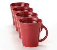 $9 Rachael Ray Double Ridge Mugs Set of 4
