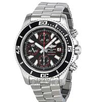 $3195 Breitling Superocean Chronograph II Automatic Mens Watch A13341A8-BA81SS