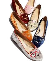 New Kitty Flats Lauched by Charlotte Olympia @ Neiman Marcus