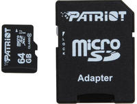 $29.99包邮 Patriot Signature 64GB microSDXC高速闪存卡