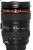 $619.99 Canon 24-105mm f/4L IS USM Lens 1-Year Canon US Warranty with Pouch and Hood