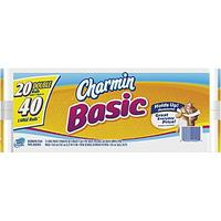 $25.57 Charmin Basic Toilet Paper Double Roll 80-Pack