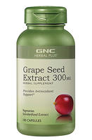 $19.99 GNC Herbal Plus® Grape Seed Extract 300 mg 100 Capsules