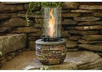 $34.97 Garden Oasis Stone and Glass Gel Burner