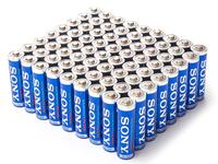$15.99 Sony Stamina Plus AAA or AA Battery 72-Pack