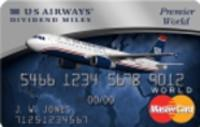 Earn up to 40,000 bonus miles  The US Airways® Premier World MasterCard®