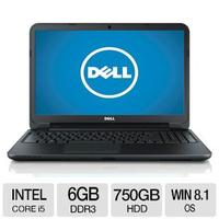 $399.99 Dell Inspiron 15R Intel Core i5 6GB Memory 750GB HDD 15.6 Notebook Windows 8.1 64-bit - I15RV-8574BLK