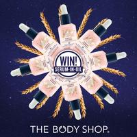 Buy 3 get 3 free, buy 2 get 1 free entire site @ The Body Shop