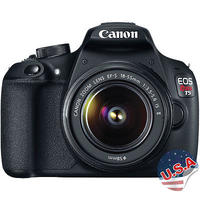 $399 Canon EOS Rebel T5 DSLR with EF-S 18-55mm IS II Lens + PRO-100 Printer + Semi-Gloss  Photo Paper
