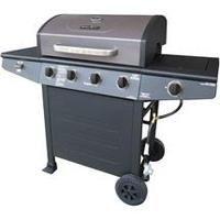 $149 Brinkmann Grill King 4-Burner Gas Grill with Side Burner