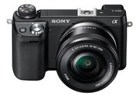 $499.99 Sony NEX-6L/B 16.1 MP Compact Interchangeable Lens Digital Camera