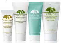 Free 5 samples and free shipping with orders over $30 @ Origins