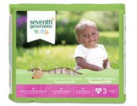 $11.99 Seventh Generation Free and Clear Baby Size 3 Diapers (62-ct)