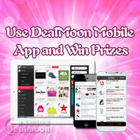 Win a $50 Macy's Gift Card and Dealmoon T-Shirts by leaving a comment via DealMoon Mobile App for iPhone, iPad, or Android