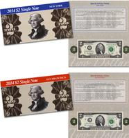 Future Deal! $15.90 2014 $2 Single Note Limited Collection @ The Bureau of Engraving and Printing