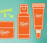 Free Deluxe Sample  with any cleanser purchase @ Kiehl's