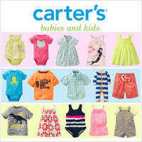$10 OFF $50+Free shipping @ Carter's