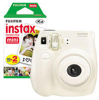 $59 Fujifilm instax mini 7S Instant Camera + Free 2-Pack instax mini Instant Color Film