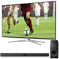 "$1497.99 65"" Samsung UN65H6350 Class 1080p 120Hz LED Smart HDTV + Samsung HW-F355 Soundbar + $300 Dell eGift Card"